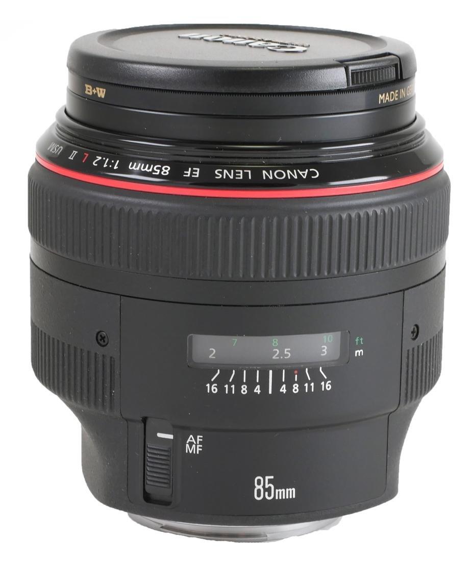 Canon EF 85mm f/1.2 Camera Lens
