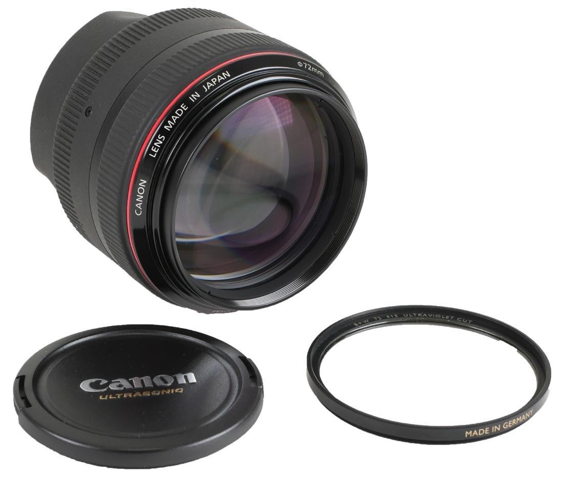 Canon EF 85mm f/1.2 Camera Lens - 2