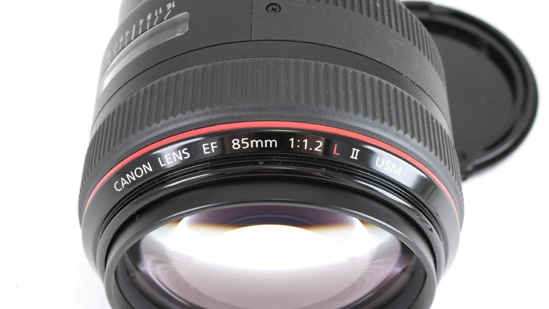 Canon EF 85mm f/1.2 Camera Lens - 3