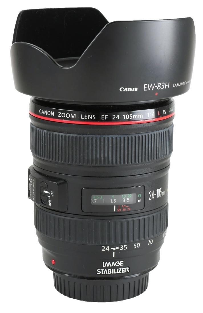 Canon EF 24-105mm Camera Lens w/ Macro
