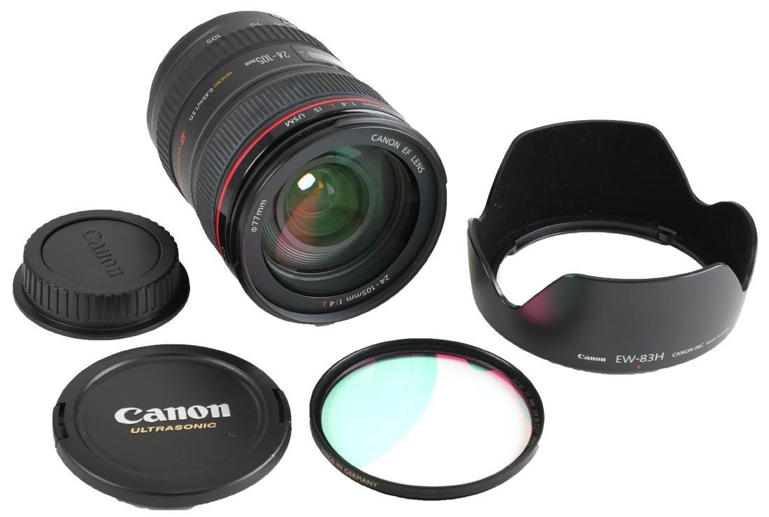 Canon EF 24-105mm Camera Lens w/ Macro - 2