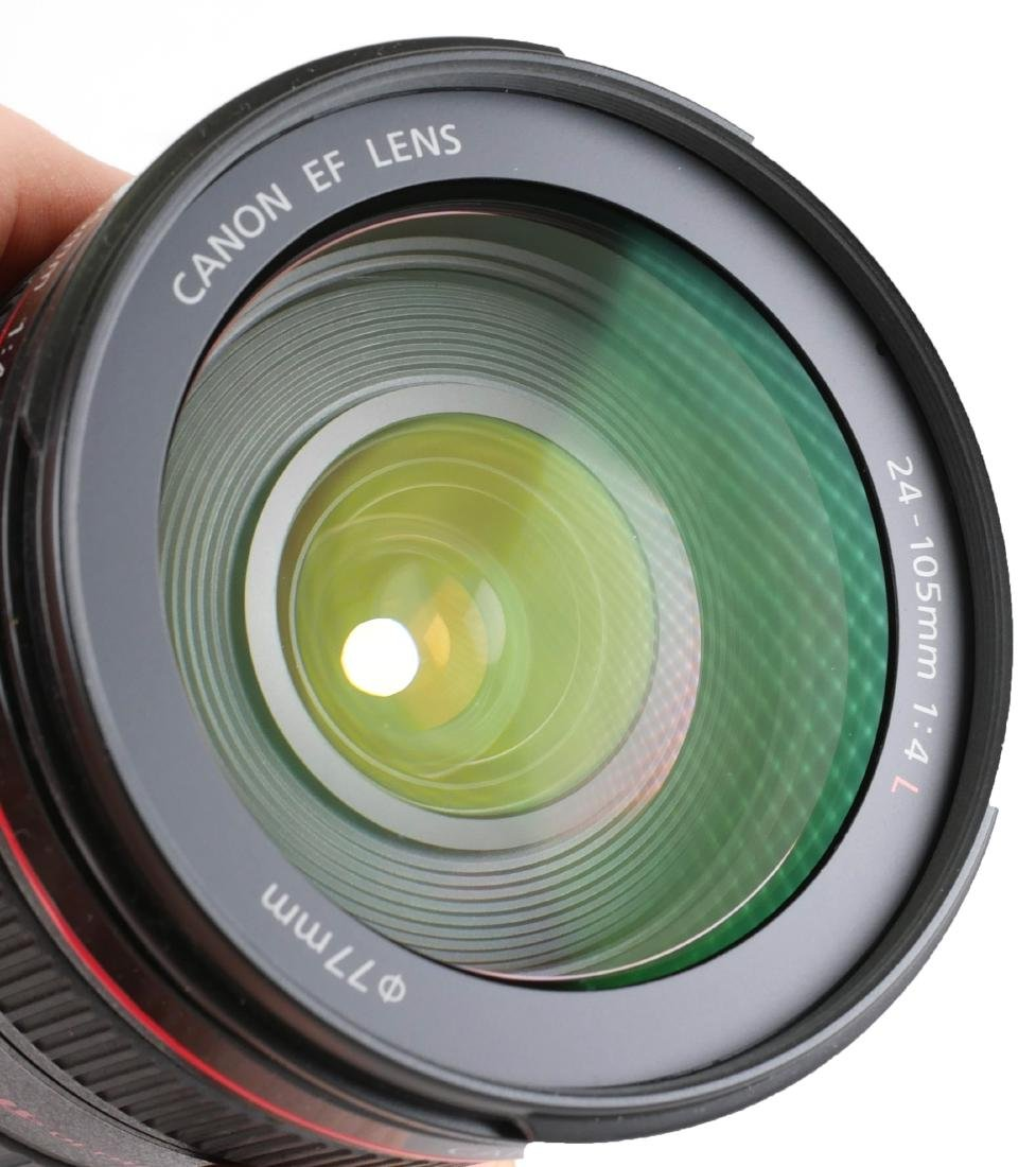 Canon EF 24-105mm Camera Lens w/ Macro - 4
