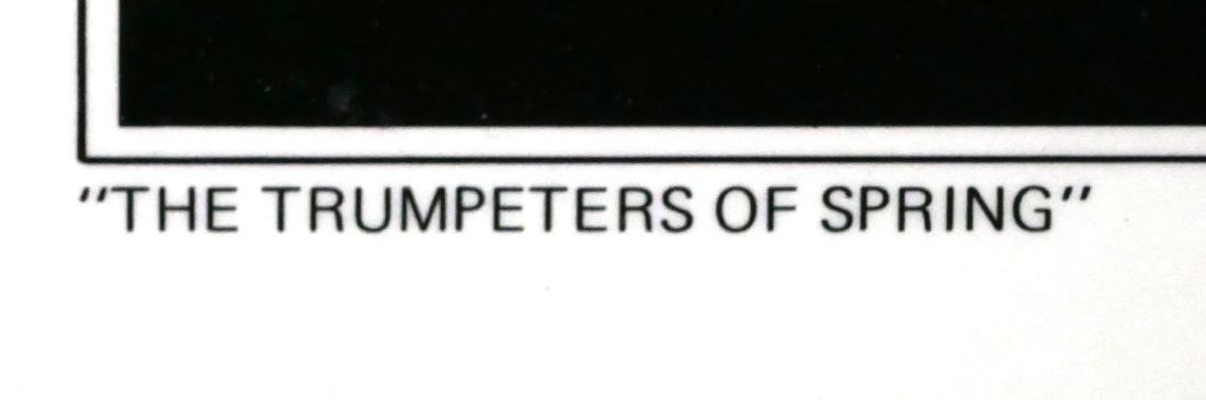 Signed Karel Appel Poster - Trumpeters of Spring - 3