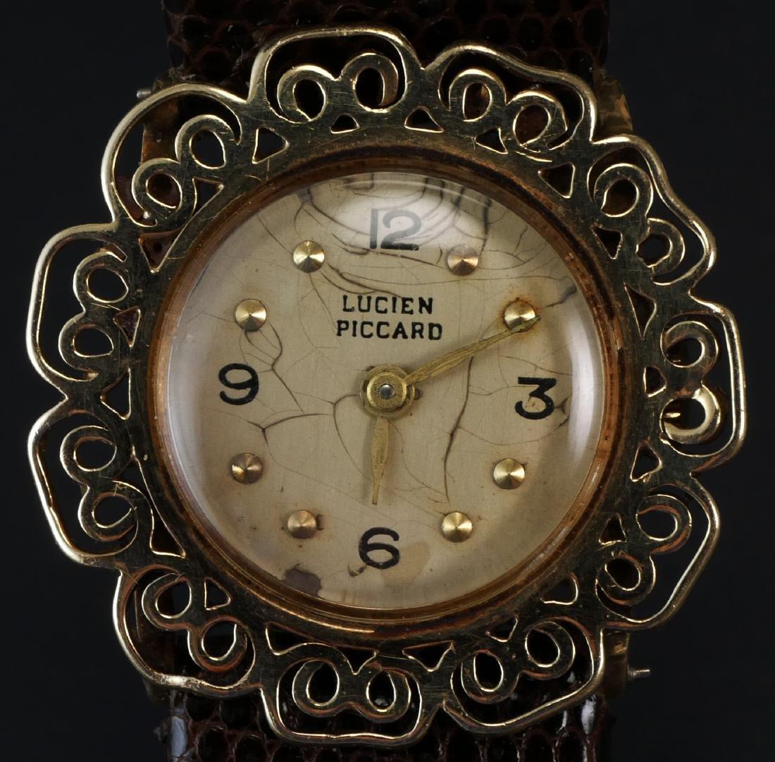 Lucien Piccard 14k Gold Ladies Watch