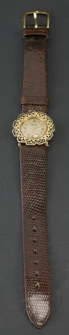 Lucien Piccard 14k Gold Ladies Watch - 2