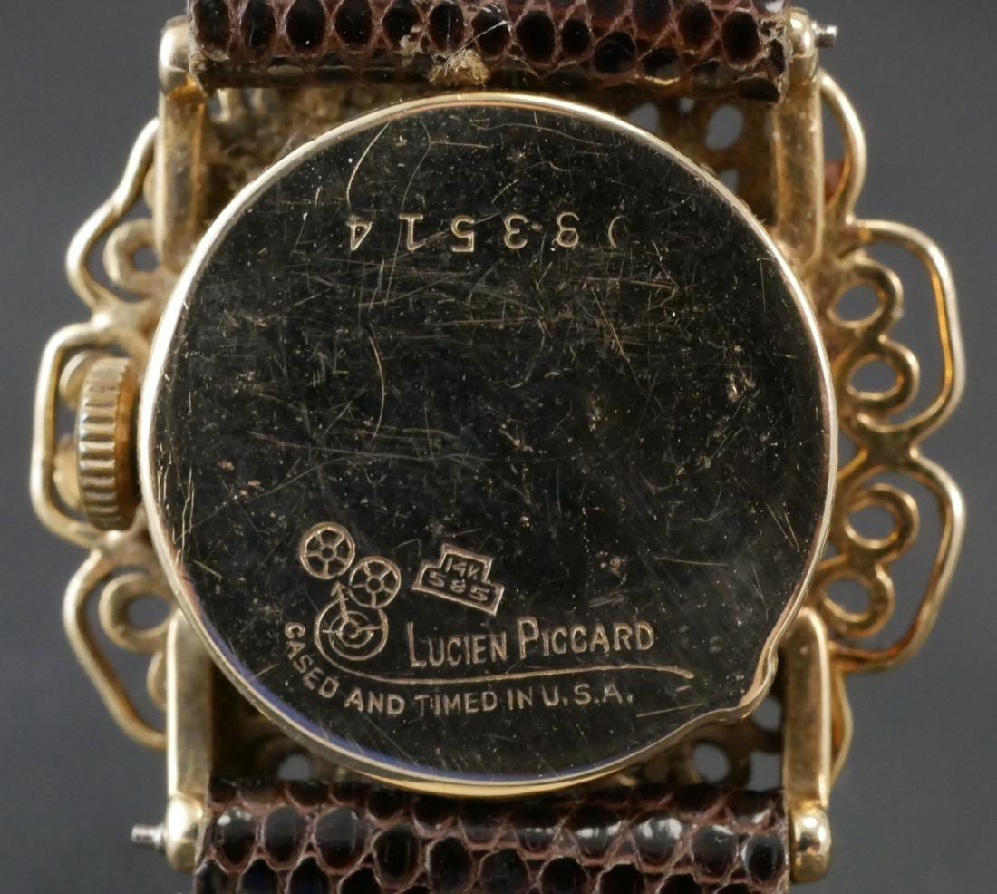 Lucien Piccard 14k Gold Ladies Watch - 3
