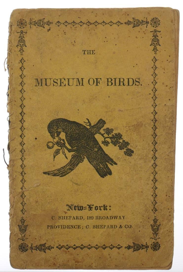 19th Century Chapbook, Museum of Birds