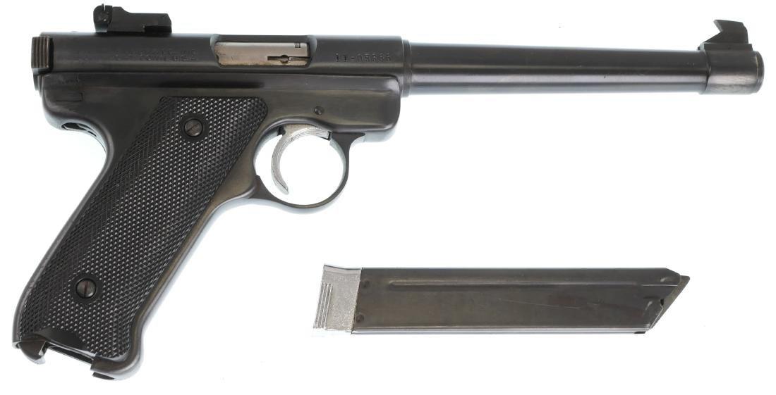 Firearm: Ruger Mark I Pistol .22 Cal