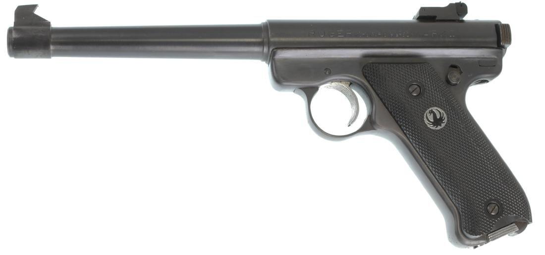 Firearm: Ruger Mark I Pistol .22 Cal - 2