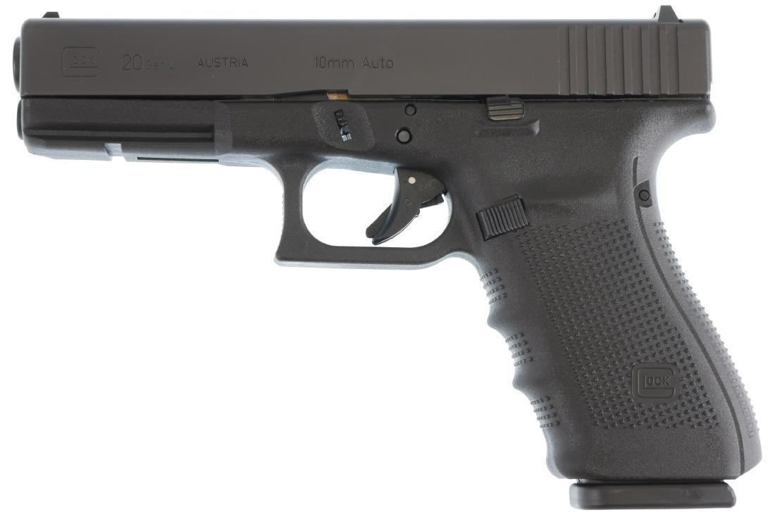 Firearm: Glock 20 Gen 4 10mm Auto Pistol - 2