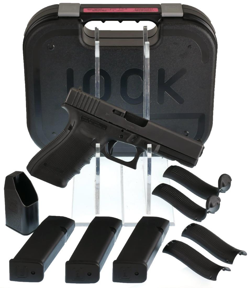 Firearm: Glock 20 Gen 4 10mm Auto Pistol - 3