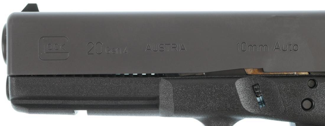 Firearm: Glock 20 Gen 4 10mm Auto Pistol - 5