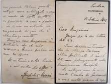 Guglielmo MARCONI, Signed Letter