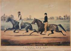 Currier Large Folio Horse Print Tacony  Mac