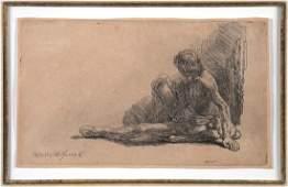 REMBRANDT VAN RIJN, Etching, 1646