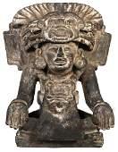 ZAPOTEC Figural Urn Deity Monte Alban
