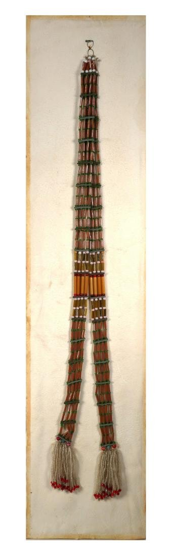 Sioux Wedding Beads, Early 20th C