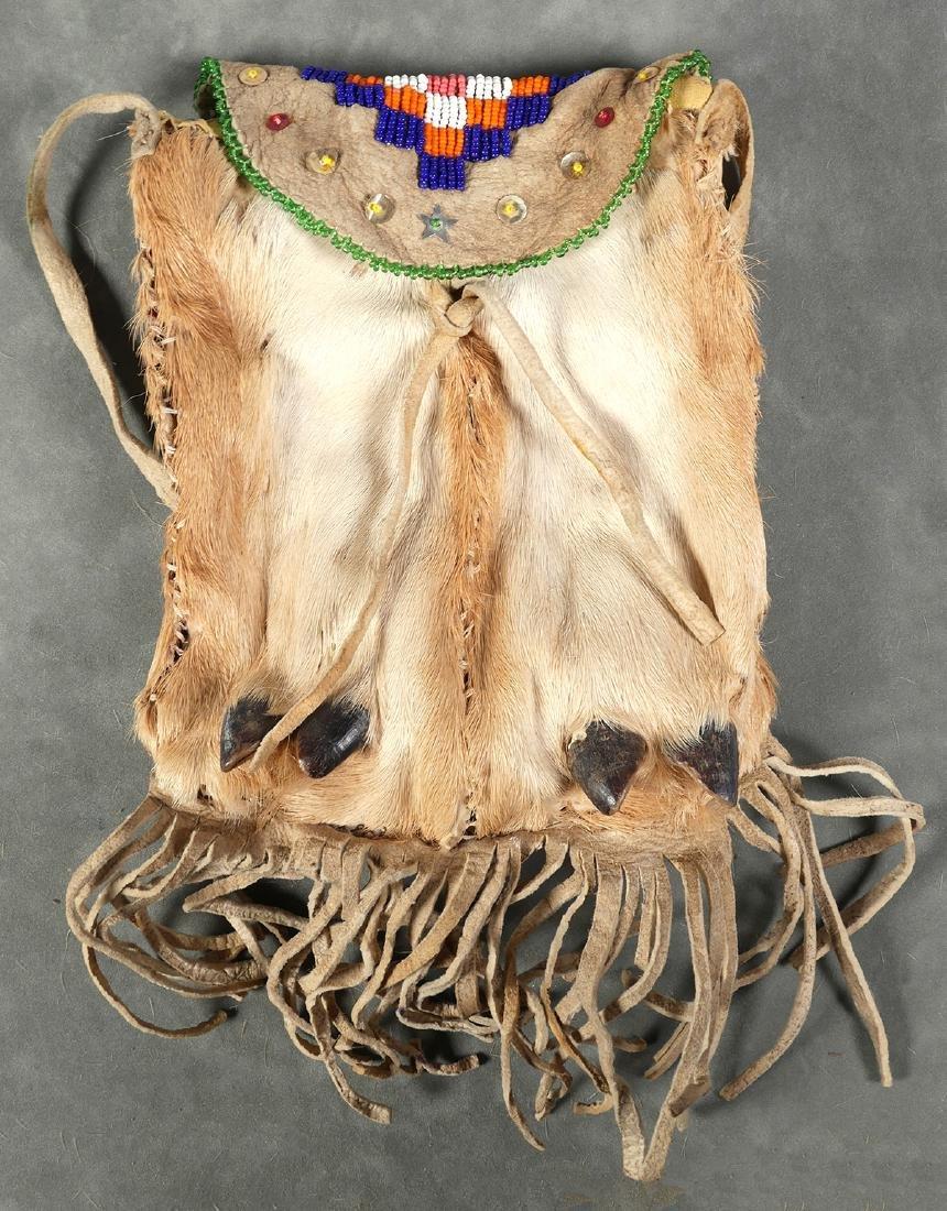 Native American Beaded Medicine Bag