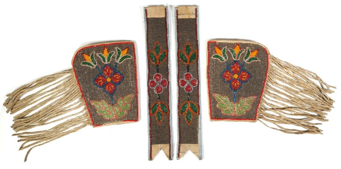 Antique Native American Wrist Gauntlets