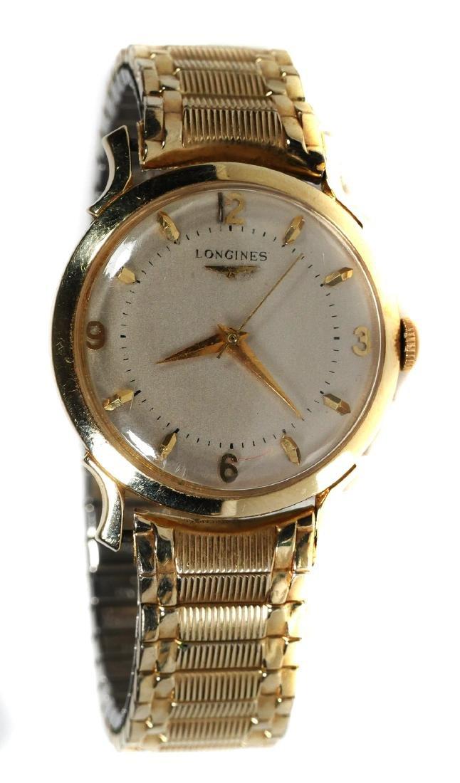 Vintage 14k Gold LONGINES Mens Wrist Watch