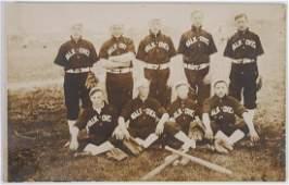 Antique Baseball Team Photo RPPC