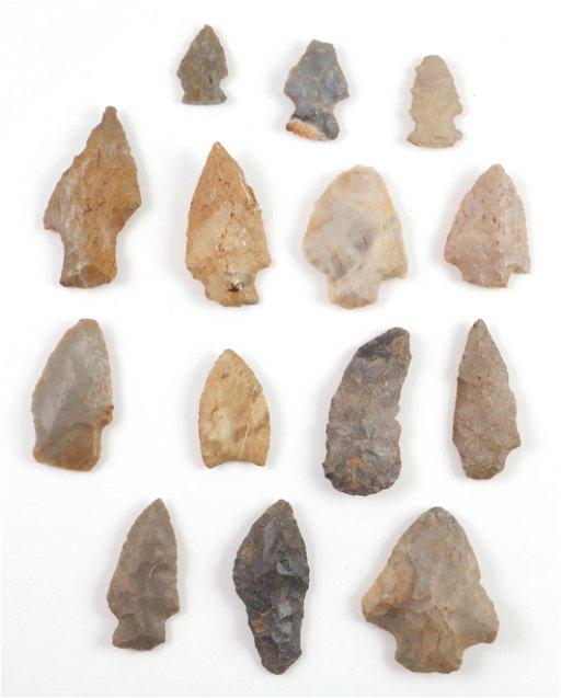 12 Tennessee & Kentucky Arrowheads
