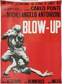 BLOWUP Cannes Movie Poster 1967