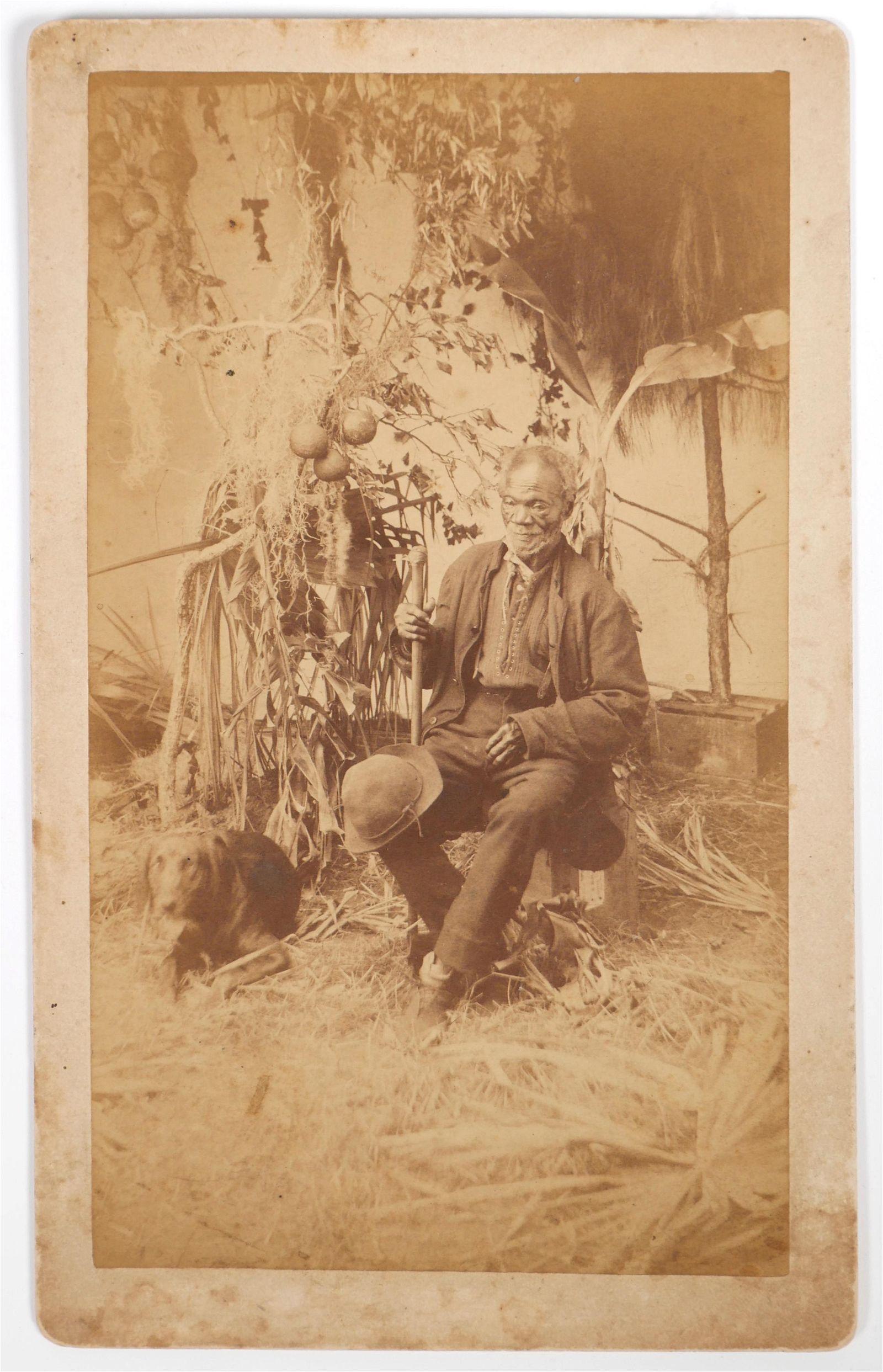 "TITUSVILLE Cabinet Photo ""Old Black Joe"""