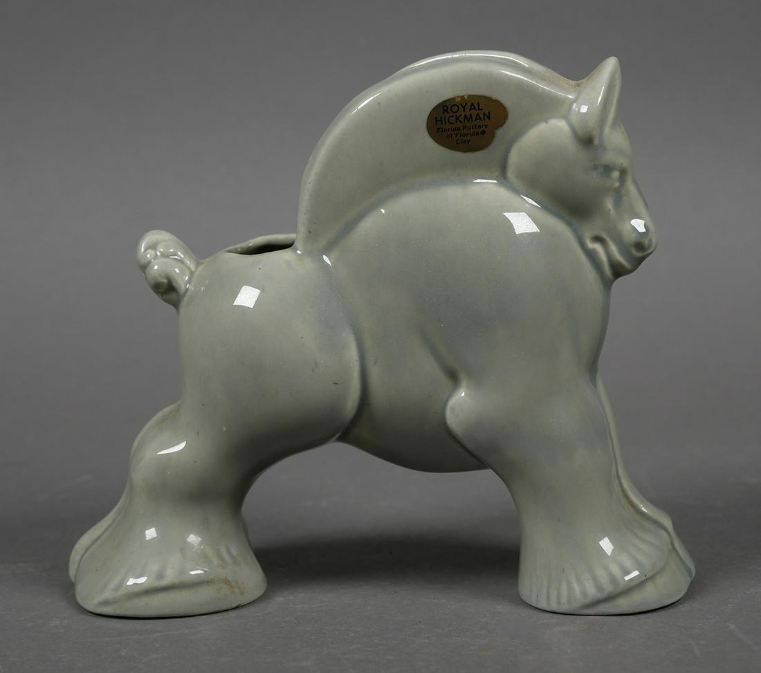 ROYAL HICKMAN Art Pottery Horse Vase