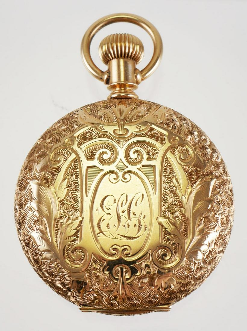 14k Gold Elgin Ladies Pocket Watch
