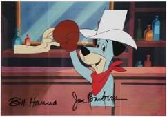 Huckleberry Hound Animation Production Cel
