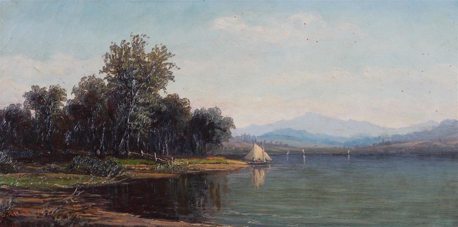 CHARLES B. RUSS, American Landscape, O/C