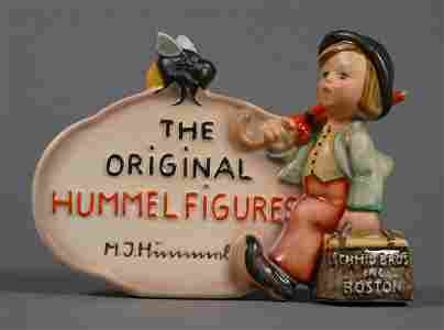 Rare Hummel DEALER'S PLAQUE Schmid Bros. 210 TMK2