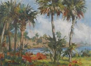 ROY NICHOLS, Florida River View, O/B