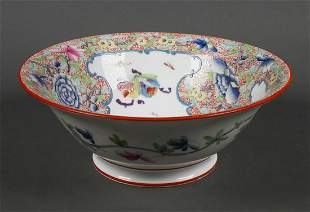 Chinese Export Famille Rose Medallion Bowl