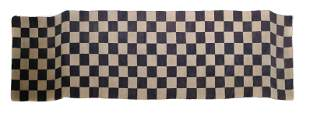 Tibetan Checkerboard Rug Early 20th Century