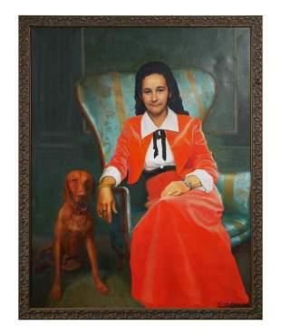 FRANK C. VON HAUSEN, Oil on Canvas