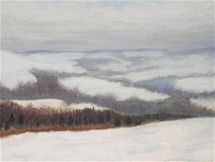 ALEXANDER DUX, Oil on Canvas Panel