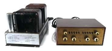 McIntosh C-8 and MC-30 Amplifier