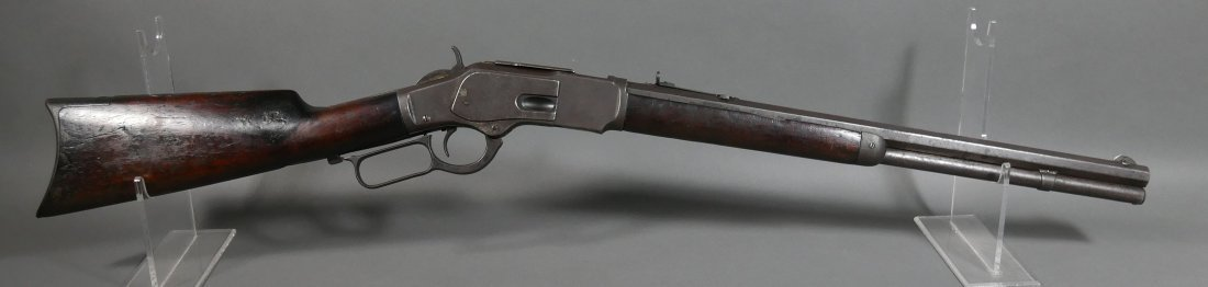 1873 WINCHESTER .44-40 cal Lever Action Rifle - 6