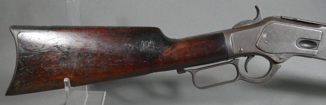 1873 WINCHESTER .44-40 cal Lever Action Rifle - 7
