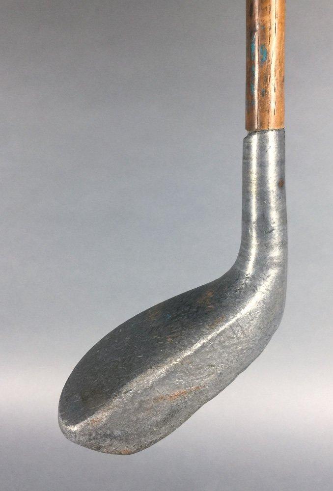 Antique Golf PUTTER 1915 Braid-Mills Hickory Club - 2