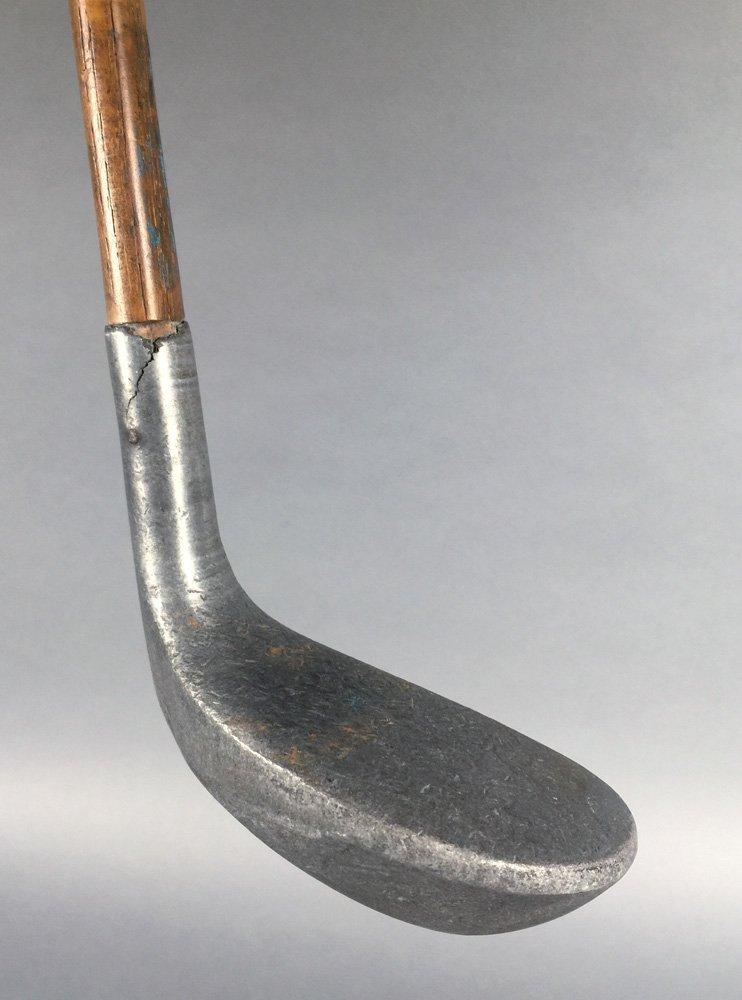 Antique Golf PUTTER 1915 Braid-Mills Hickory Club - 3