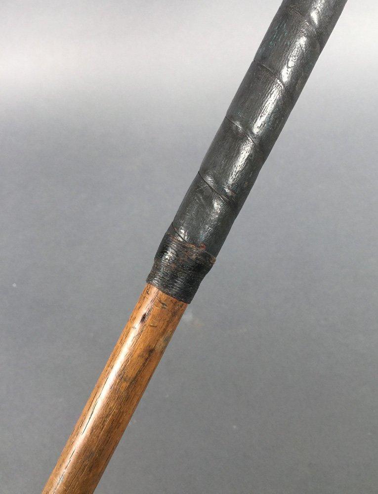Antique Golf PUTTER 1915 Braid-Mills Hickory Club - 6