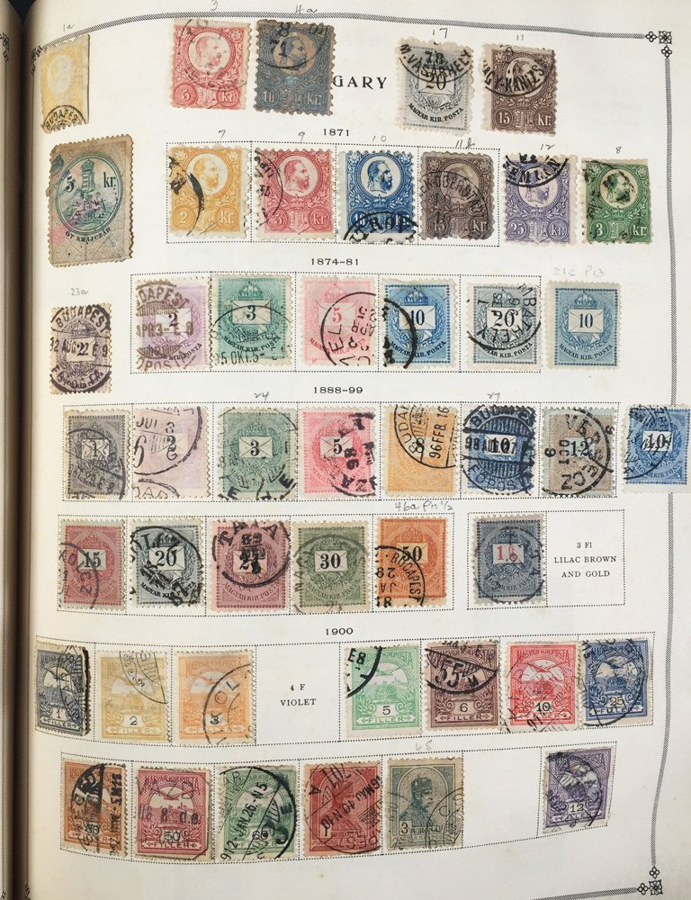 Postage Stamp Collection, Scott International - 5