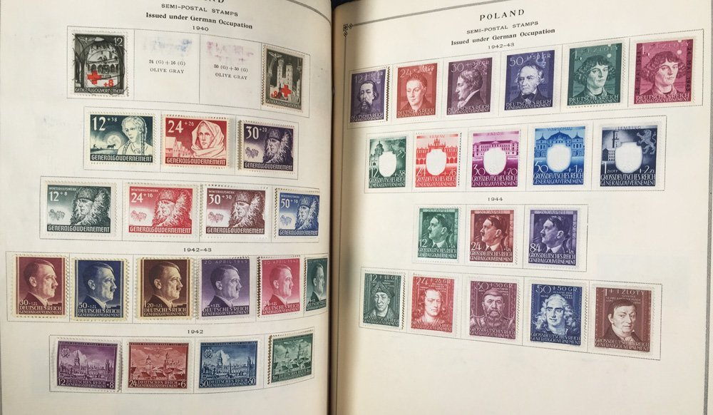 Postage Stamp Collection, Scott International - 9
