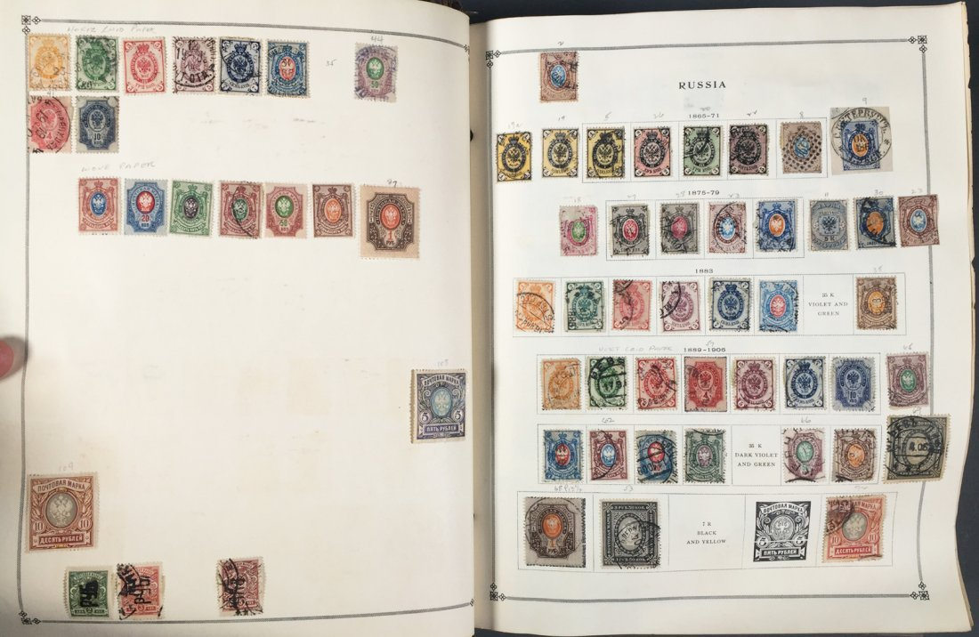 Postage Stamp Collection, RUSSIA - 2