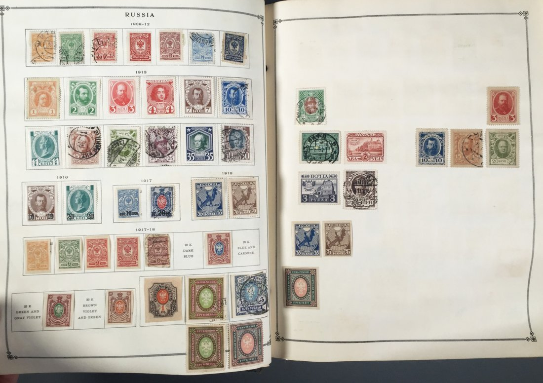 Postage Stamp Collection, RUSSIA - 3