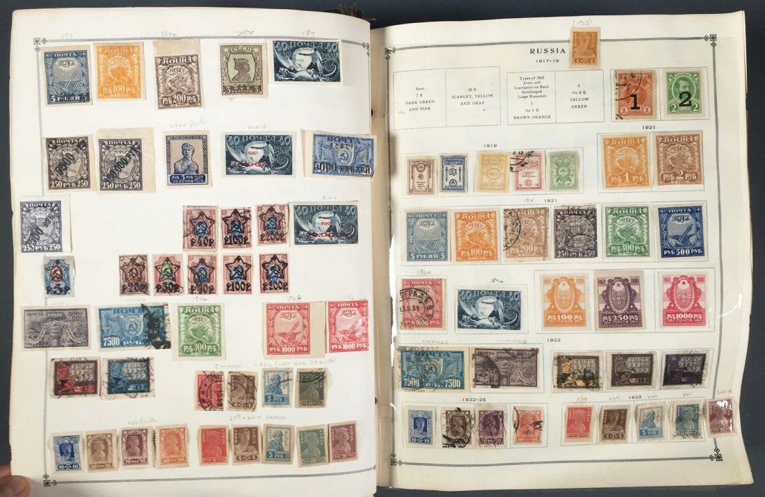 Postage Stamp Collection, RUSSIA - 4