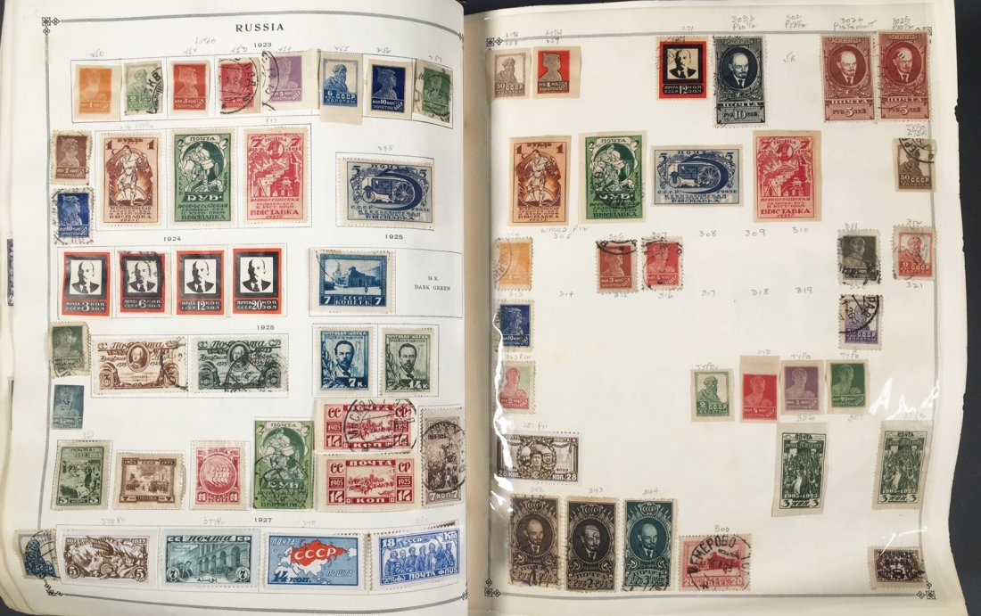 Postage Stamp Collection, RUSSIA - 5